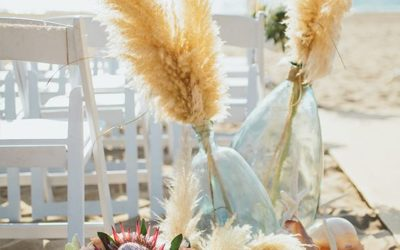 7 Inspiring Beach Wedding Aisles