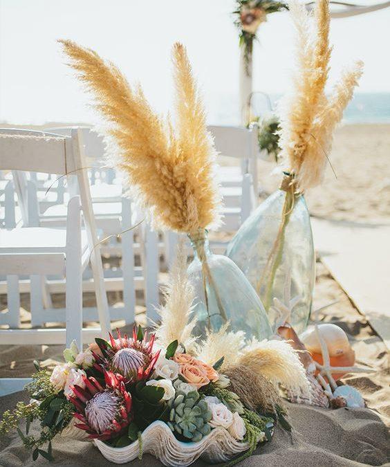 7 Inspiring Beach Wedding Aisles