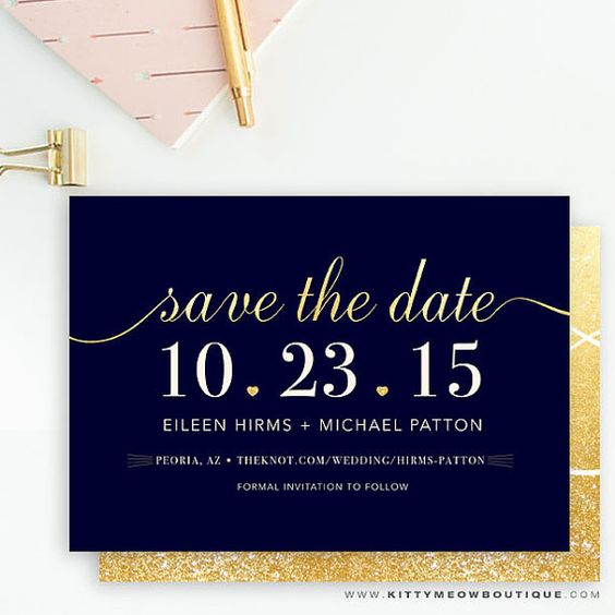 9 Super Chic Save the Dates