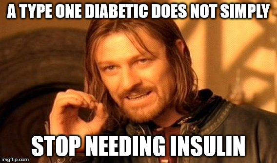 5 things to never say to a T1 diabetic