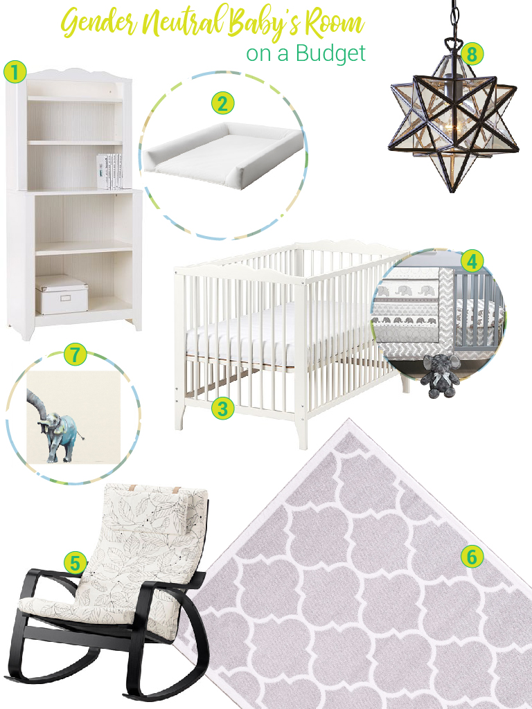 Gender Neutral Babys Room On A Budget